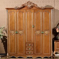 bedroom sets suppliers - Gold Supplier latest American country bedroom wardrobes Furniture manufacturers wardrobe