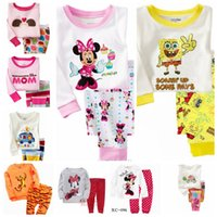 Wholesale Children s homewear suits boys girls Outfits Sets boys girls Pajamas suits