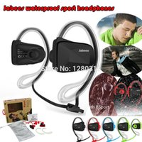 Wholesale 2015 NEW Jabees Color Bluetooth Wireless Sports Stereo Waterproof Swimming Headsets Headphone Earphone