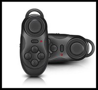 Wholesale 2016 New Wireless Bluetooth Game Controller Joystick Gaming Gamepad for Android iOS Moblie Smart Phone for iPhone for Samsung