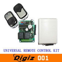 Wholesale Universal Remote Control Kit mhz V For Home Store Anit theft Alarm Cars Motorcycles Doors CARS0607