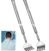 Wholesale Healthy Back Scratcher Stainless Telescopic Portable Extendable Handy Pocket Pen Clip Back Scratcher