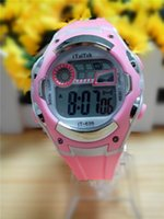 Wholesale 2015 Sport Rubber Band Digital m Waterproof student casual Wrist Watch children mutifunction watches