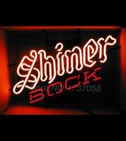 air slant - Brand New Shiner Bock Slanted Logo Neon Beer Sign quot X quot MINI EQUITY MIB Avize Nikke Air Jordann Neon Sign Buddweiser Bar