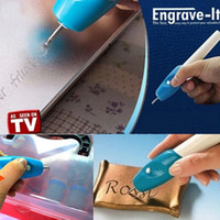 Wholesale Upgrade metal engraving machine engraver pen jewellery wood Engrave Carve Pen Handheld Etching chisel word marker Engraving Tool