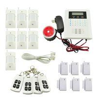 Wholesale WIRELESS GSM AUTODIAL SMS HOME HOUSE OFFICE SECURITY BURGLAR INTRUDER ALARM