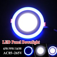 home warmer - Hottest Home Hotel Nightlight Dimmable Round Acrylic Led Downlight W w Modes Lighting Changeable LED Panel Lights Blue Cool Warm White
