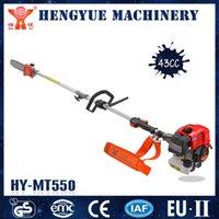 grass trimmer - Garden Grass Cutter Petrol Wheel Brush Grass Cutter Hand Low Price Push Cleaner Trimmer Handle Mower MT550
