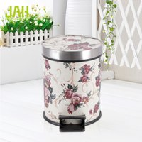 bathroom pedal bins - Ann Hui Jie foot pedal trash bin kitchen bathroom customers