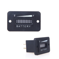 battery status monitor - Universal Battery Status Charge Led Indicator Monitor Battary Fuel Gauge With LED Digital V V