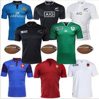 ireland - Whosales discount Ireland Rugby Jersey Wales RWC Rugby Japan ITALY Football Shirt World Cup Top quality France ENGLAND free ship
