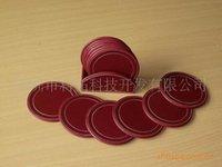 leather coaster - Gift PU leather coasters leather coasters gift placemat placemat coaster