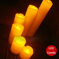 Wholesale Funlife Led Tears Paraffin Wax Candle Flameless Electronic Simulation Wedding Decor Home Decoration Night Light N1074