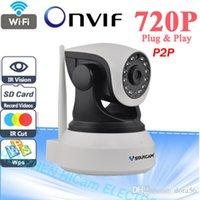 Wholesale VStarcam C7824WIP HD P IP Camera wifi Night Vision Camera IP Network Camera CCTV WIFI P2P Onvif IP Camera Built in speaker