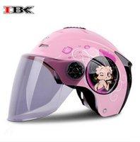 Wholesale IBK personality helmet summer sunscreen prevented uv protection helmet motorcycle neutral helmet four seasons half helmet