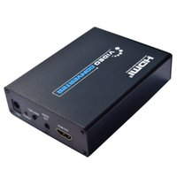 Wholesale SCART to HDMI Converter Splitter V A Power Supply Scaler Box Support D P HDTV Video Converter for NTSC PAL SECAM V36