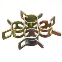 best pipe clamps - Best Price mm Vacuum Spring Fuel Oil Water Hose Clip Pipe Tube Band Clamp Metal Hot Sale