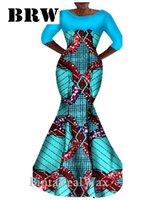 africa wax - Elegance Dress Private Custom Trumpet Mermaid Dress Africa Wax Dashiki Sexy Dress Unique Elegance Dress