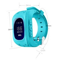 advanced wrist watch - Advanced Smart Child GPS Watch Precise Positioning Children Intercom Wearable Device SOS Bluetooth Smartwatch For Android phones Watch