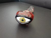 big red tube - Big eyes red flame glass pipe glass tube spoon limited smoking