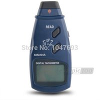 Wholesale SM A Digital LCD Display Photo Tachometer Gauge Meter Tester