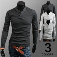 Wholesale Hot selling Men s fashion Pure color man knitting jacket casual men sweater clothing new arrive