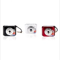 Wholesale New X3 Mini Minitype Gift Cameras MINI DV Small Size Novelty Appearance Exquisite Color Box Packaging