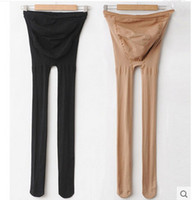 Wholesale 8219 maternity belly legging elastic strap adjust thin stocking autumn tights clothes for pregnant women pregnancy pantyhose