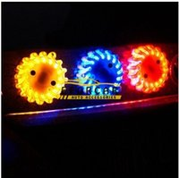 auto led wheel light - 20pcs Car Strobe Warning Lights LED Flash Light Lamp Auto Ceiling Light Led Roof Lamp Wind Fire Wheels Strobe Light