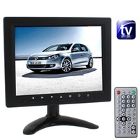 Wholesale New Monitor TV inch TFT LCD Screen Monitor with TV Function PAL NTSC SECAM Remote Controller