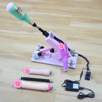 dildo machine - Automatic Sex Machine Gun with Masturbator and Dildo Love Machine for Couples Fucking Machine Sex Toys