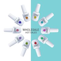 uv gel nail polish - Harmony Gelish Nail Polish Soak Off UV Gel Polish Solid UV Gel Nail Art Tips Design Extension Nails DIY Sets Gel Nail Polish