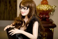 real feeling sex dolls - Realistic Silicone Doll Big Breast Life Size Female Body Size with Bright Hair Bring you Crazy Feel real sex dolls for man
