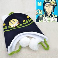 Cheap Wholesale-hot japan anime character cosplay DRAMAtical Murder cotton fashion knitted hats for women&men