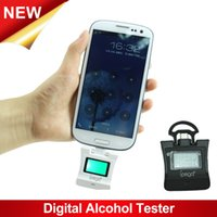 Cheap Wholesale-iPega Digital Backlight Alcohol Tester with Voice Alarm Function PG-SI021 For Samsung Galaxy S4 Note2 Note3 Xiaomi HTC