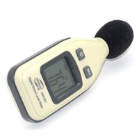 Wholesale Original BeneTech GM1351 Noise Meter Instrument Noise Sound Level Meter Decibel Noise Tester dB Digtial LCD Display with Retail Box