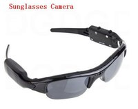 Wholesale Hot Arrival Hot Sale Digital Audio Video Camera DV DVR Sunglasses camera Sport Camcorder Recorder For Driving Outdoor