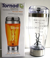 battery operated mixers - Vortex Portable Protein Shaker Multi purpose mixer Tornado Mixer Battery Operated ml the stirring cup hy01