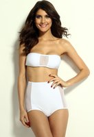 Wholesale adjust the tie back for a perfect fit Black white High waisted Mesh Accent Bikini spring summer new hot sale Latest swimsuit