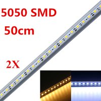 Wholesale 2PCS LED Bar Light Non Waterproof SMD LEDs M LED Rigid Strip DC V LED Tube Hard LED Strip