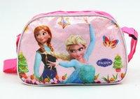 girls handbags - Frozen Bag Handbags Purse For Girls Elsa Anna Single Shoulder Bag Girls Preschool Bag Popular Backpack Factory Direct Sale