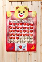 Wholesale Creative home bear head barometer hanging act the role of perpetual calendar
