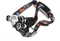 Wholesale Linterna frontal LED Headlamp Lumens Head lamp T6 LED Headlight head torch flashlight