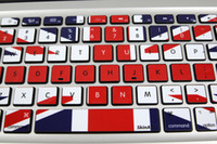 air free national - Removable beautiful cute cool national flag waterproof and dustproof keyboard stickers for computer mackbook air