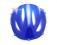 Wholesale High quality Double Bubble Windscreen Windshield For Honda CBR RR ABS Black Transparent Blue