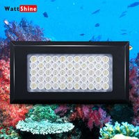 Square coral for sale - 2015 Promotion Sale Luminarias Full Spectrum Dimmable w Led Aquarium Light for Fish Tank Coral Reef Lighting Marine Freshwater Dropship