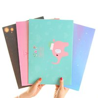 Wholesale A4 File Folder documents file bag paper Office File Holder Storage Filing Bag School office Supplies elephant stationery YB