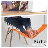 Wholesale FUUT Canvas Foot Rest Desk Hammock Mini Office Foot Rest Stand Desk Feet Hammock The Foot Hammock Comfortable for Your Foot m0921