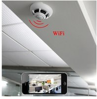 best wifi detector - best HD quality H Wi Fi IP WiFi IP Smoke Detector Covert DVR Camera mp4 video real smoke sensor