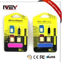 Wholesale Sim Card Adapter Nano Sim Card Smart Phones Dual Sim Card Cell Phone Sim Card For Android iPhone